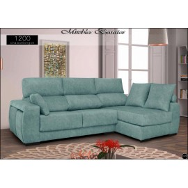 Sofa con chaiselongue alta gama en medidas 230 y 270 cms ref-02