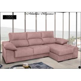 Sofa con chaiselongue alta gama en medidas 240 y 280 cms ref-04