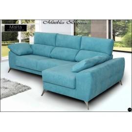Sofa con chaiselongue alta gama en medidas 240 y 280 cms ref-05