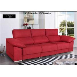Sofa con chaiselongue alta gama en medidas 240 y 280 cms ref-06