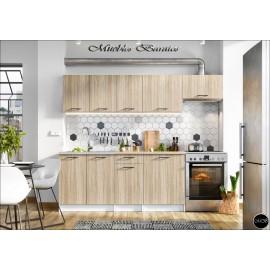 Modulos para cocinas color madera ref-02