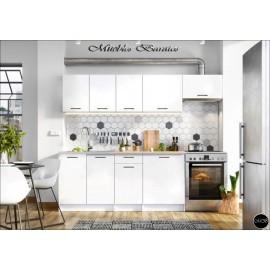 Modulos para cocinas color blanco ref-01