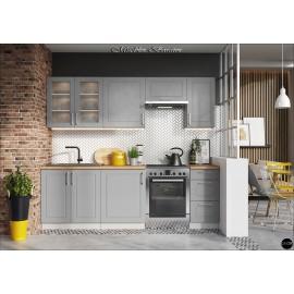 Modulos para cocinas color gris ref-12