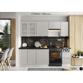 Modulos para cocinas color gris claro ref-16
