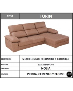 Chaiselongue en oferta ref-04 268 cms