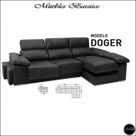 Sofa Chaiselongue 290 cms ref-15 VARIOS COLORES DISPONIBLES