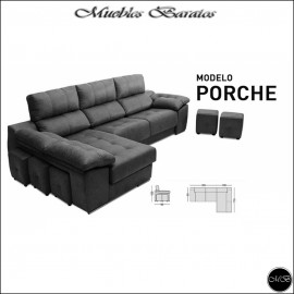 Sofa Chaiselongue 290 cms ref-17