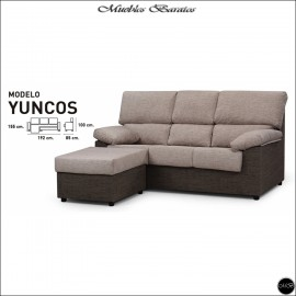 Chaiselongue en oferta ref-01A 192 cms