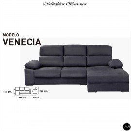 Chaiselongue en oferta ref-02 268 cms