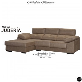 Chaiselongue en oferta ref-03A 280 cms VARIOS COLORES DISPONIBLES