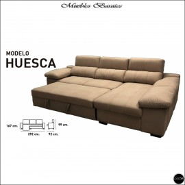 Sofa Chaiselongue cama 292 cms ref-03