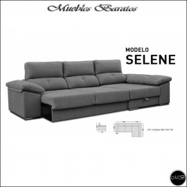 Sofa Chaiselongue cama 240, 270 y 300 cms ref-04