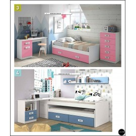 Dormitorio juvenil al gusto ref-01