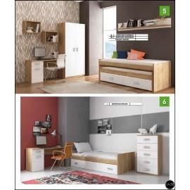 Dormitorio juvenil al gusto ref-02