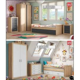 Dormitorio juvenil al gusto ref-04