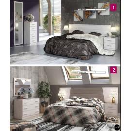 Dormitorio matrimonio al gusto ref-01