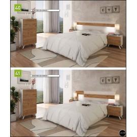 Dormitorio matrimonio al gusto ref-04