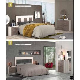 Dormitorio matrimonio al gusto ref-06
