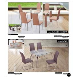 Conjunto mesa sillas ref-02