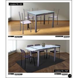 Conjunto mesa sillas ref-05