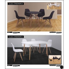 Conjunto mesa sillas ref-06
