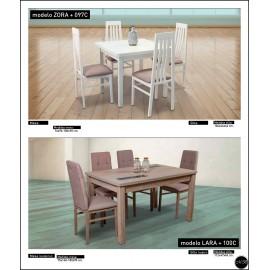 Conjunto mesa sillas ref-07