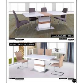 Conjunto mesa sillas ref-08