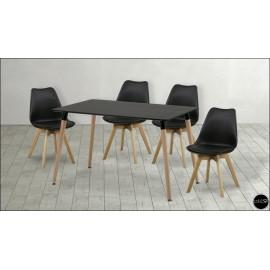 Conjunto mesa sillas ref-14