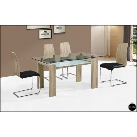 Conjunto mesa sillas ref-18