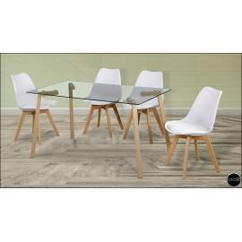 Conjunto mesa sillas ref-19