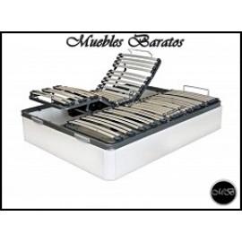 Canape abatible VARIAS MEDIDAS Y COLORES articulado doble somier ref-02