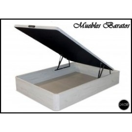 Canape abatible TODAS LAS MEDIDAS color blanco artico ref-54