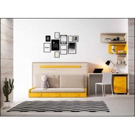 Dormitorio juvenil completo COMPOSICION-402