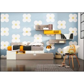 Dormitorio juvenil completo COMPOSICION-303