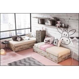 Dormitorio juvenil completo COMPOSICION-320
