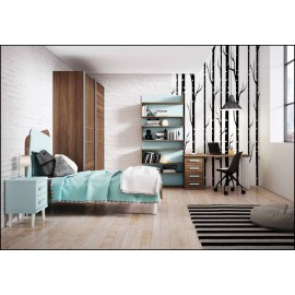 Dormitorio juvenil completo COMPOSICION-602