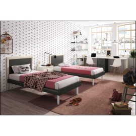 Dormitorio juvenil completo COMPOSICION-603