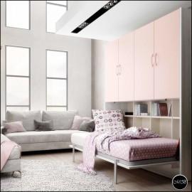 Dormitorio juvenil completo composicion ref-23