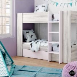 Dormitorio juvenil completo composicion ref-31