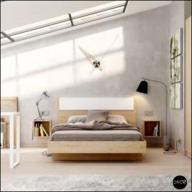 Dormitorio juvenil completo composicion ref-40