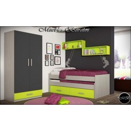 Dormitorio juvenil completo ref-100