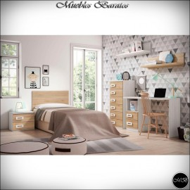 Dormitorio juvenil completo ref-81