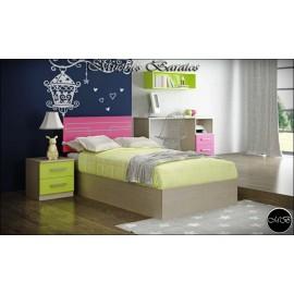 Dormitorio juvenil completo ref-82