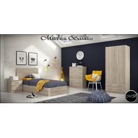 Dormitorio juvenil completo ref-86