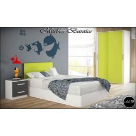 Dormitorio juvenil completo ref-92