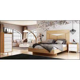 Dormitorio matrimonio composición ref-45