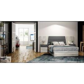 Dormitorio matrimonio composición ref-42