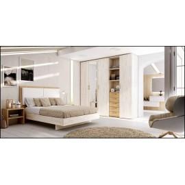 Dormitorio matrimonio composición ref-43