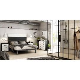 Dormitorio matrimonio composición ref-44