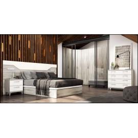 Dormitorio matrimonio composición ref-46